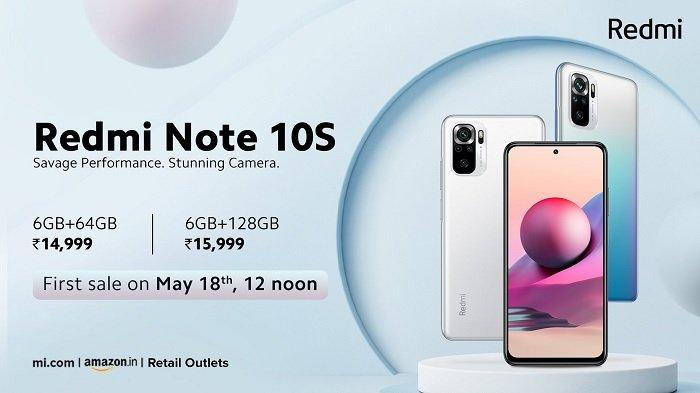 Redmi Note 10S.
