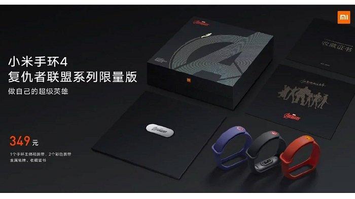 Spesifikasi Xiaomi Mi Band 4 Resmi Diluncurkan, Juga Ada Mi Band 4 Versi Marvel Avengers