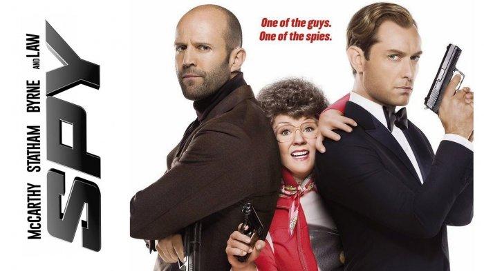 Sinopsis SPY, Film Action Komedi Tentang Agen Rahasia yang Mencari Bom, Saksikan Malam Ini