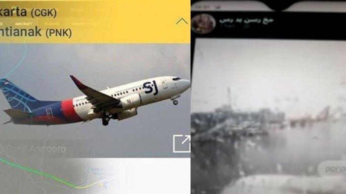 Video sebelum pesawat Sriwijaya Air SJ 182 take off.