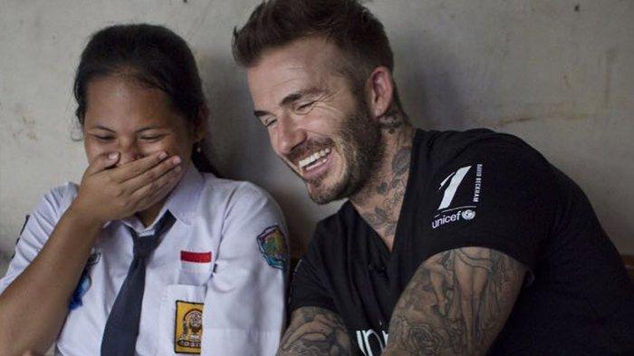 Anak Indonesia Ini Bertemu David Beckham dan Bakal Melakukan Hal Seberuntung Ini!
