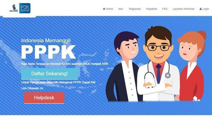SSCASN - Pendaftaran P3K di SSP3K.BKN.GO.ID Tidak Bisa Diakses hingga Senin 11 Februari Ini Kata BKN
