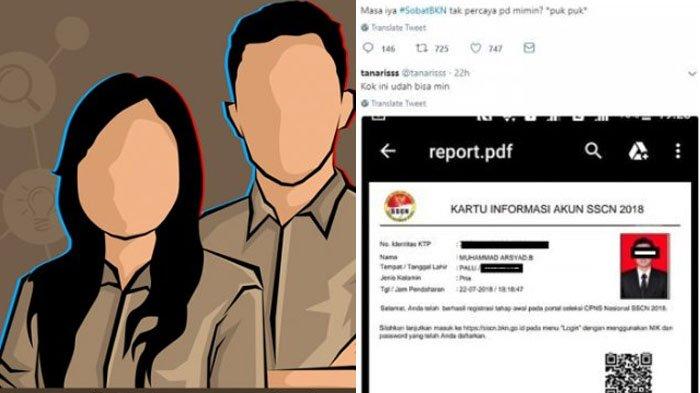 CPNS 2018 - BKN Imbau Calon Pelamar Hati-hati saat Kirim Data di sscn.bkn.go.id, Tak Bisa Diralat!