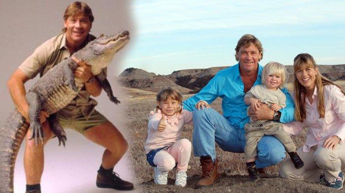 11 Tahun Ditinggal Mati Steve Irwin Beginilah Nasib Mengejutkan Dari Istri Dan Kedua Anaknya Halaman All Tribunstyle Com