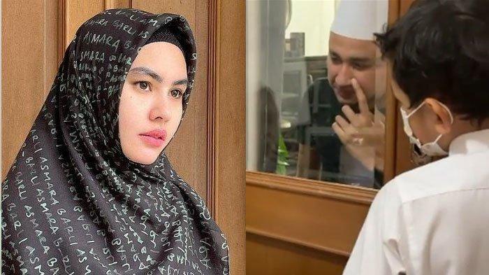 Pilu Habib Usman, Berjuang Lawan Covid, Suami Kartika Putri Tahan Tangis saat Video Call Sang Anak