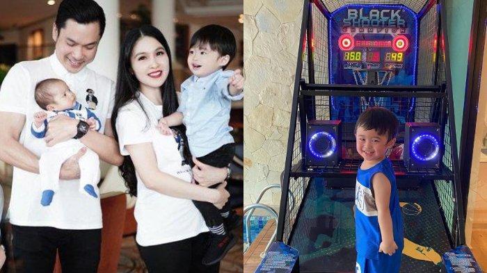 Unggah Video Raphael Moeis Makin Pintar Main Basket, Sandra Dewi Sebut Sosok Anak Sebagai Inspirasi