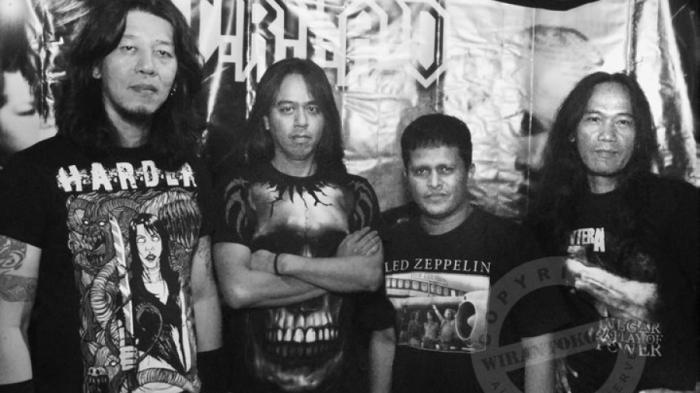 Krisna Sadrach - Fakta Suckerhead, Band Metal Legendaris Indonesia