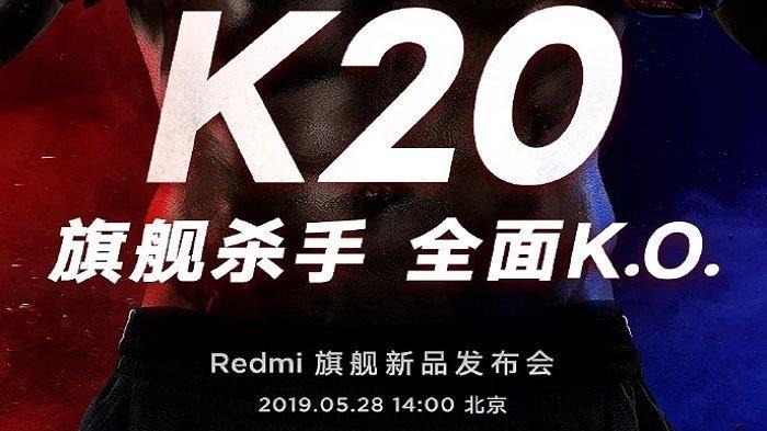 Rilis Besok, Ponsel Terbaru Xiaomi Redmi Ternyata Hadir Dalam 2 Varian, Redmi K20 dan K20 Pro