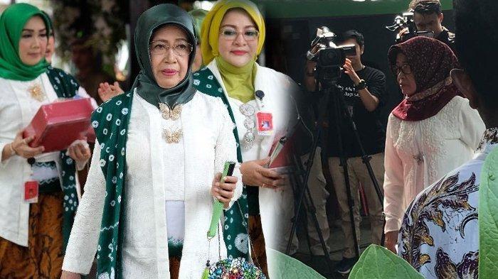 Sudjiatmi Notomihardjo, Ibu Jokowi Datang ke TPS Sendiri Terpisah dengan Cucunya, Minta Doa Restu
