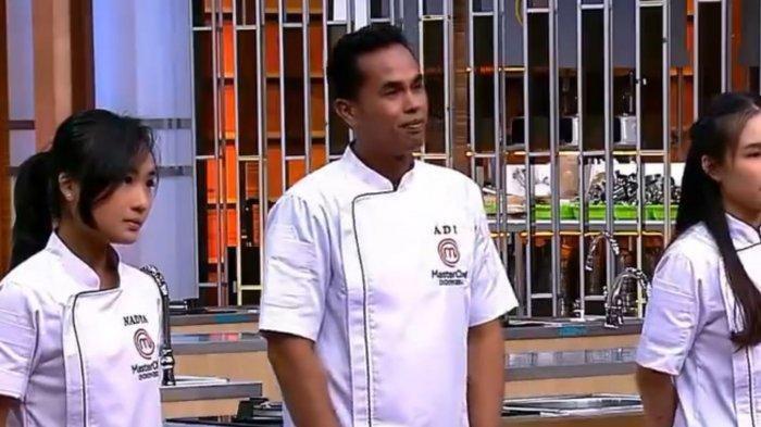 Suhaidi Jamaan alias Lord Adi harus tereliminasi di top 3 MasterChef Indonesia season 8.