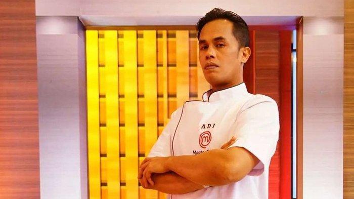 Suhaidi Jamaan alias Lord Adi, ktereliminasi di top 3 MasterChef Indonesia season 8.