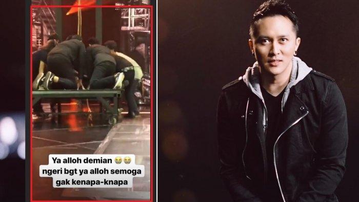 Aksi Sulap Demian Bikin Panik Crew, Dewi Perssik Ngeri, Suami Sara Wijayanto: 'It's Not A Prank'
