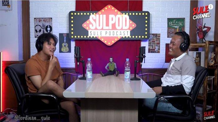 Sule dan Rizky Febian di Podcast Sule Channel.