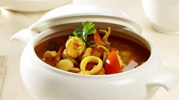 Sup Seafood Asam Pedas