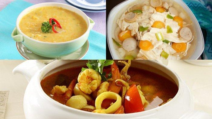 5 Resep Aneka Sup, Masakan Rumahan Berkuah, Hidangan yang Cocok Dinikmati Pagi dan Malam Hari