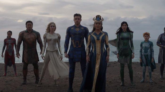 Teaser Film The Eternals Bertabur Bintang, Ada Angelina Jolie, Salma Hayek, hingga Kit Harington