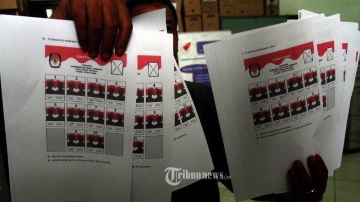 HASIL TERBARU Real Count KPU untuk Partai Politik Hari Minggu (21/4) Jam 08.00 WIB