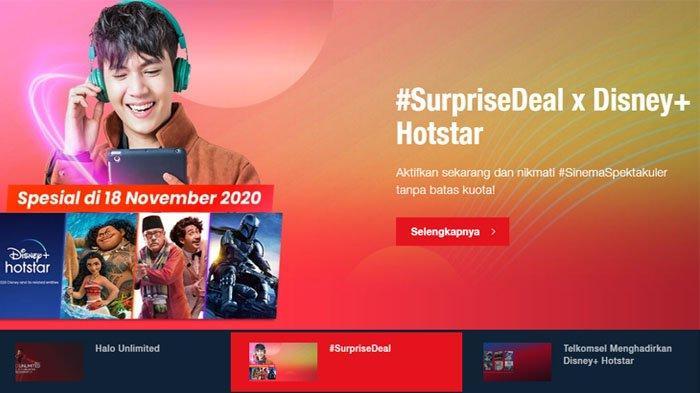 Hari Ini Terakhir! Promo SurpriseDeal Telkomsel, Kuota Murah Mulai dari Rp 100.000 dapat 50GB