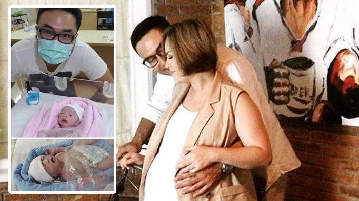 Selamat! Cynthia Lamusu dan Surya Saputra Dikaruniai Anak Kembar, Berikut Ini Namanya
