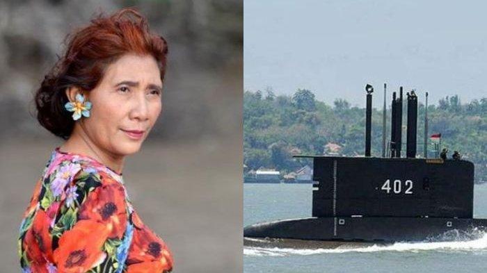 MOHON Mukjizat, Susi Pudjiastuti Pilu KRI Nanggala 402 Tak Kunjung Ditemukan: Berlayar & Selamatlah