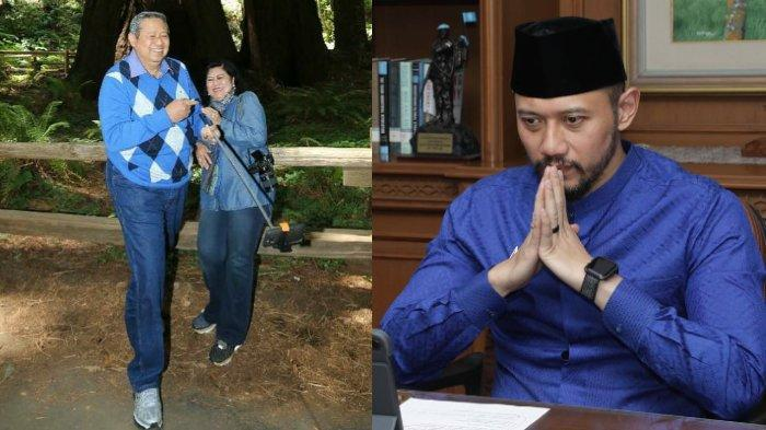 Unggah Potret Kenangan SBY dengan Mendiang Ani Yudhoyono, AHY Ungkapkan Harapan untuk Pepo