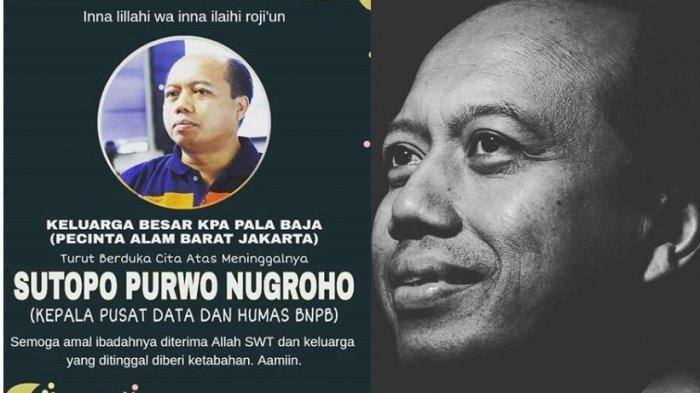 Kisah Inspiratif Sutopo Purwo Nugroho, Perjuangan Rilis Informasi Bencana & Pesan Untuk Wartawan
