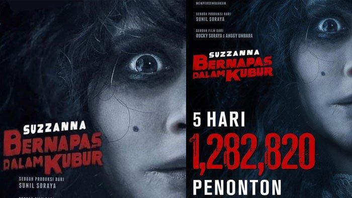 Film Suzzanna: Bernapas Dalam Kubur Raih 1 Juta Penonton, Luna Maya Ungkapkan Rasa Syukurnya