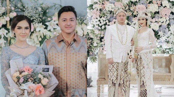 Syahra Larez dan Denny Buana menikah