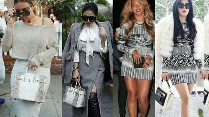 Tak Hanya Penjual Sayur Purwokerto Mirip Syahrini, Gaya Beyonce & Kim Kardashian Pernah Mirip Incess