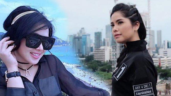 Kenakan Dress Rancangan Designer yang Sama, Begini Adu Anggun Syahrini & Annisa Pohan, Cantik Siapa?
