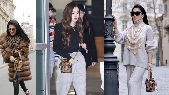 Selera Fashion Syahrini dan Rose BLACKPINK Sama, Pakai Tas Branded Harga Puluhan Juta
