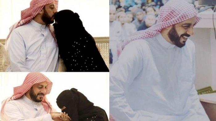 Syekh Ali Jaber bersama Ummu Fahad