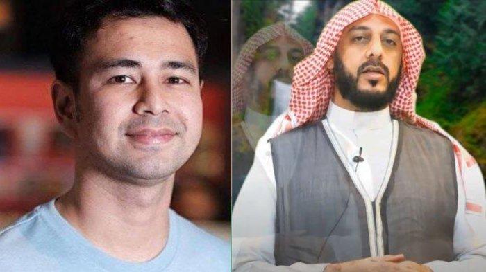 Syekh Ali Jaber dan Raffi Ahmad.