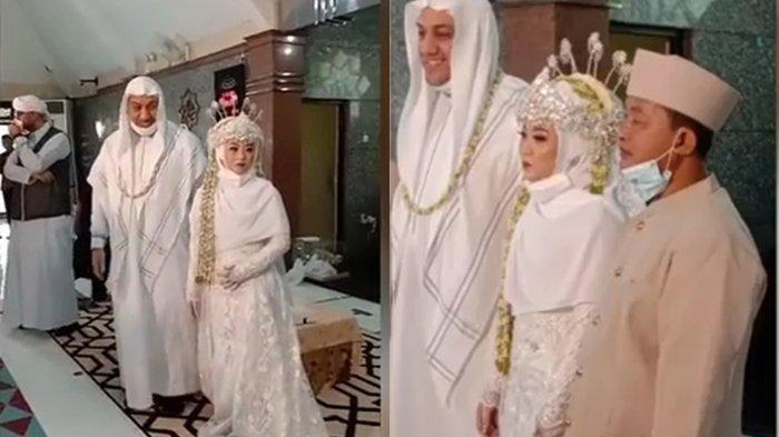 SELAMAT! Syekh Hussein Jaber Adik Syekh Ali Jaber Menikah, Istrinya Wanita Garut, Berikut Sosoknya