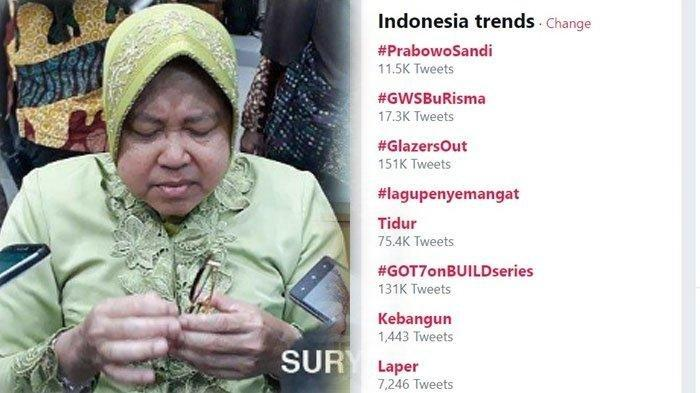 Sempat Banjir Tagar #GWSBuRisma, Begini Kondisi Kesehatan Terkini Walikota Surabaya Tri Rismaharini