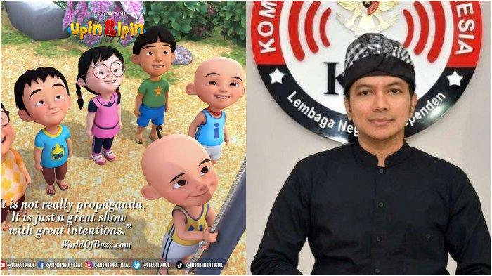 Tak Mau Disebut Propaganda Malaysia, Akun Resmi Upin Ipin Semprot Balik Ketua KPI: 'Niat Kami Baik'