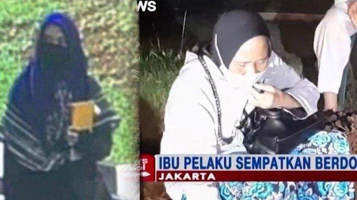 TANGIS Ibu di Makam ZA, Penyerang Mabes Polri, Syok Anak jadi Teroris: Ya Allah, Kok Kamu Jadi Gini