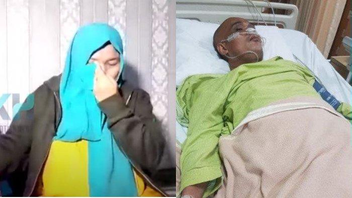 Tangis istri Sapri pecah ceritakan kondisi sang suami