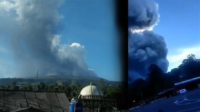 Gunung Tangkuban Parahu Kembali Erupsi, Statusnya Naik Jadi Waspada, Ini Imbauan dari PVMBG