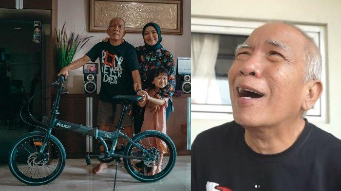 Tantri Kotak Berikan Sepeda Baru untuk Sang Ayah yang Kemalingan, Mertua Arda Naff Bikin Haru