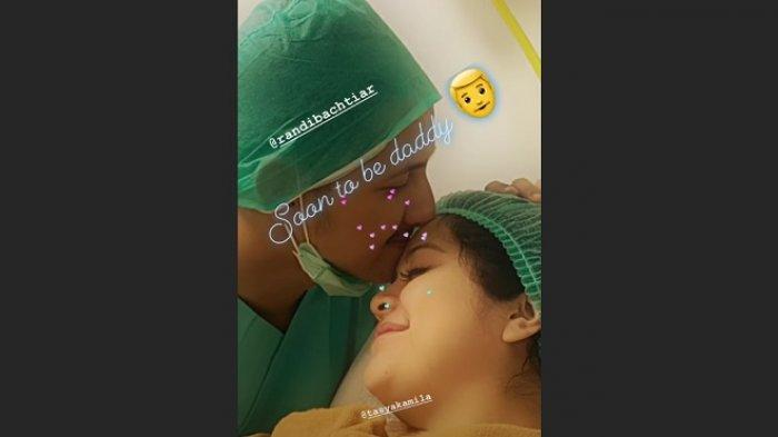 Tasya Kamila melahirkan
