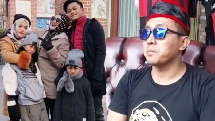 Teddy Pardiyana dan potret kenangan Lina Zubaedah bersama anak-anaknya
