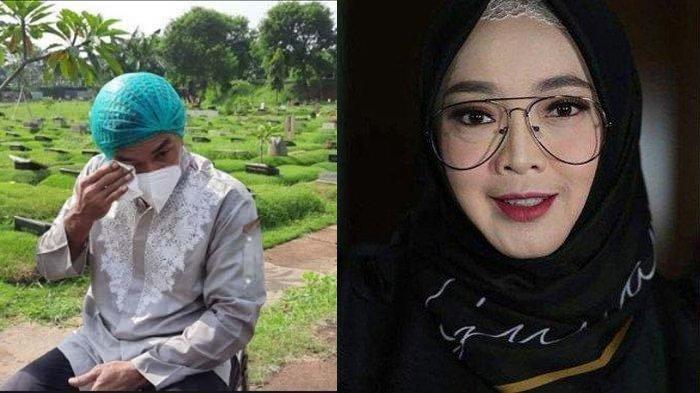 7 HARI Rina Gunawan Wafat, Teddy Syah Syok Lihat Kondisi Makam Istri saat Ziarah: Kaget pas Lihat