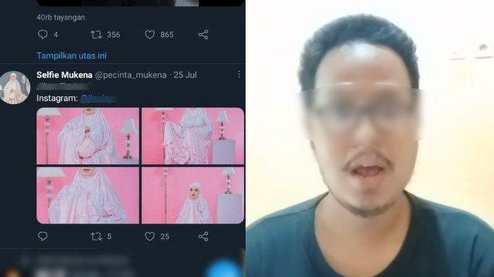Pria Terduga Pelaku Fetish Mukena Muncul Buat Klarifikasi, Beberkan Alasan Simpan Foto Para Model