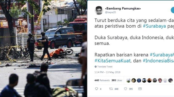 Teror Bom Surabaya, Ini 7 Cuitan Paling Menohok dalam Tagar #PrayForSurabaya dan #SurabayaWani