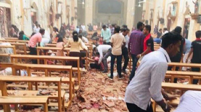 Teror bom Sri Lanka Minggu 22 April 2019 tewaskan ratusan orang.