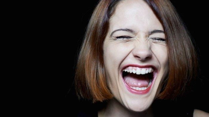 Ilustrasi tertawa