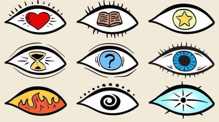 Tes Kepribadian: Ungkap Rahasia Karaktermu, Pilih Satu dari 9 Gambar Mata Ini
