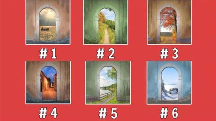 Pilih Salah Satu Pintu Paling Menarik, Pilihanmu Bisa Tunjukkan Karakter Kamu Sebenarnya