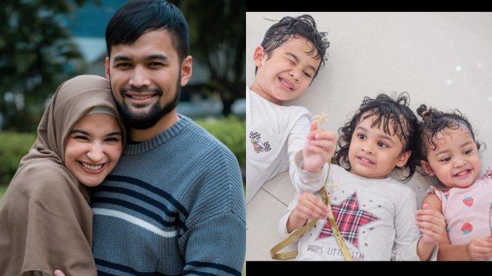 Teuku Wisnu, Shireen Sungkar, dan ketiga anaknya